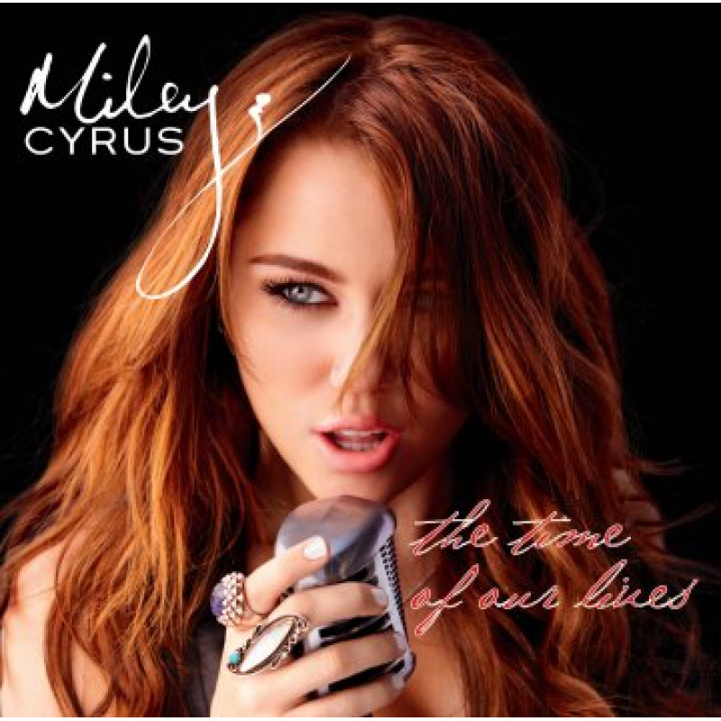 CD CYRUS MILEY - THE TIME OF OUR LIVES