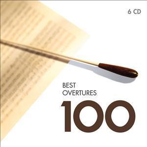 CD VARIOUS ARTISTS - 100 BEST OVERTURES