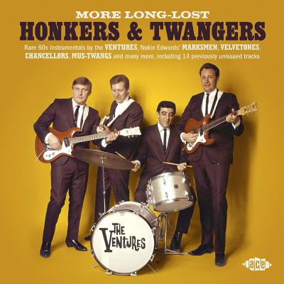 CD V/A - MORE LONG-LOST HONKERS & TWANGERS