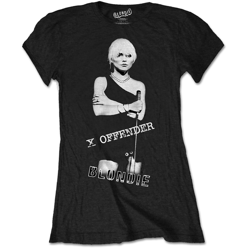 Blondie - Tričko X Offender - Žena, Čierna, S