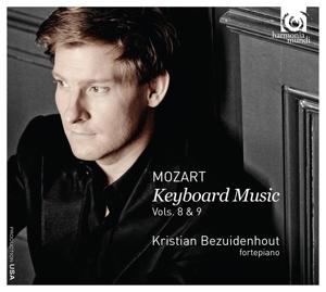 CD MOZART, W.A. - KEYBOARD MUSIC VOL.8 & 9