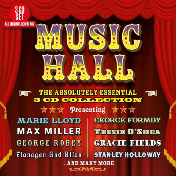 CD V/A - MUSIC HALL - THE ABSOLUTELY ESSENTIAL 3 CD