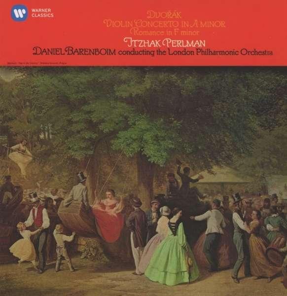CD PERLMAN/GIULINI/CHICAGO SYMPHONY ORCH - DVORAK: VIOLIN CONCERTO OP. 53, ROMANCE OP. 11