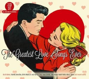 CD V/A - GREATEST LOVE SONGS EVER