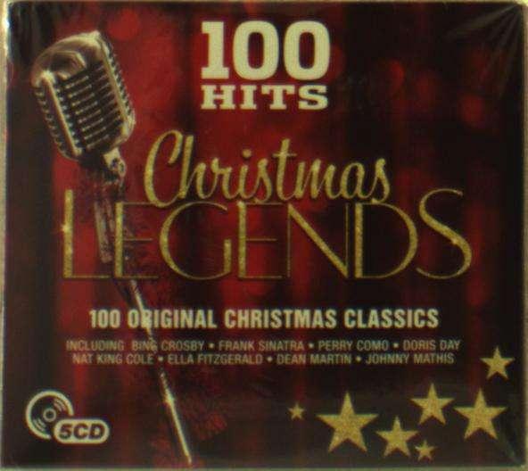 CD V/A - 100 HITS - CHRISTMAS LEGENDS