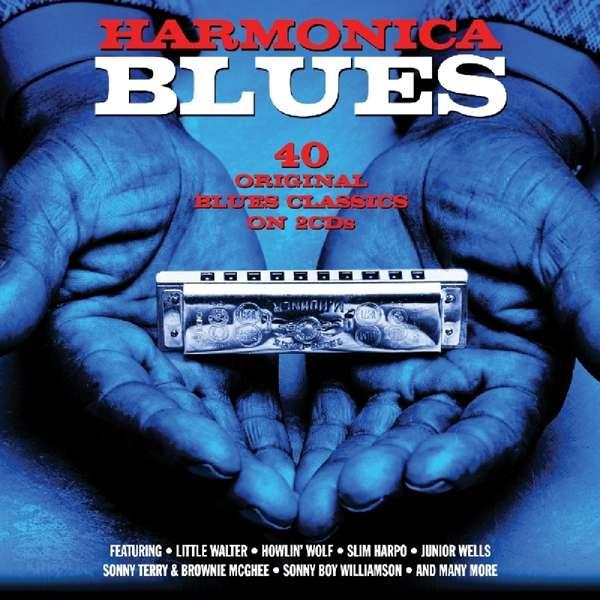 CD V/A - HARMONICA BLUES