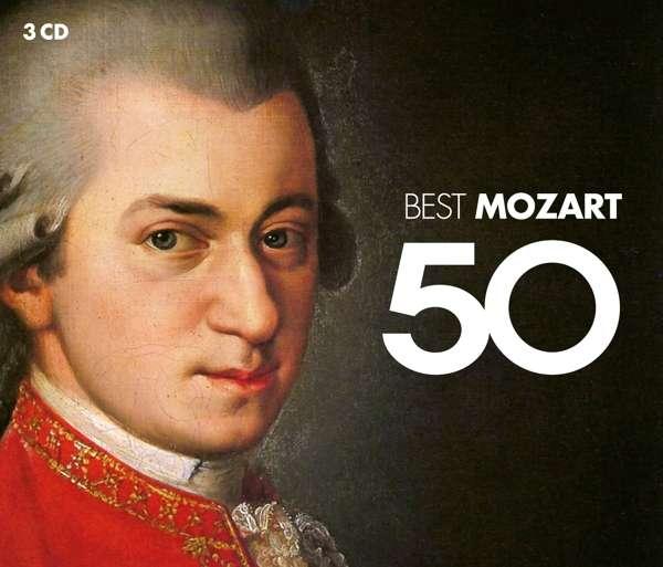 CD VARIOUS ARTISTS - 50 BEST MOZART