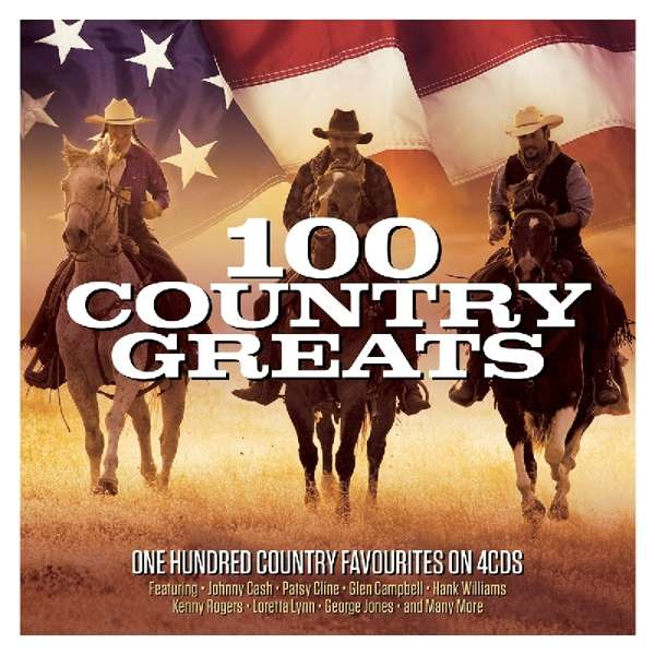 CD V/A - 100 COUNTRY FAVOURITES