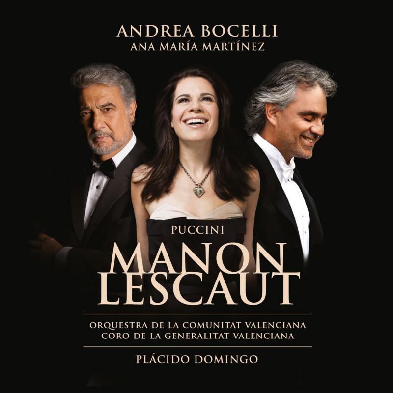 ANDREA BOCELLI - CD Puccini: Manon Lescaut