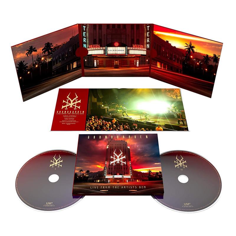 Soundgarden - CD LIVE AT THE ARTISTS DEN