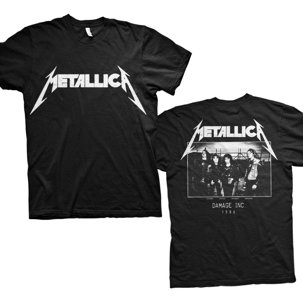 Metallica - Tričko Master of Puppets Photo - Muž, Unisex, Čierna, S
