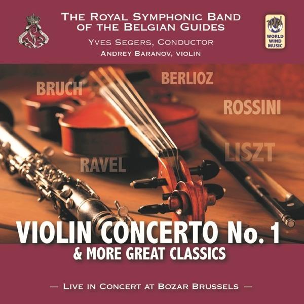 CD ROYAL SYMPHONIC BAND OF T - VIOLIN CONCERTO NO.1