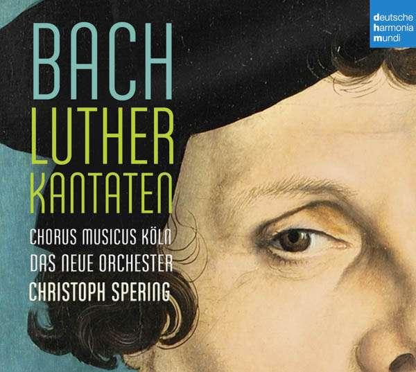 CD BACH, J.S. - Bach: Lutherkantaten