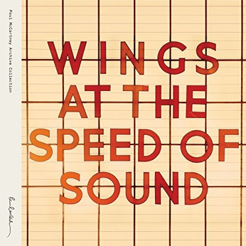 Vinyl WINGS - AT THE SPEED OF SOUND