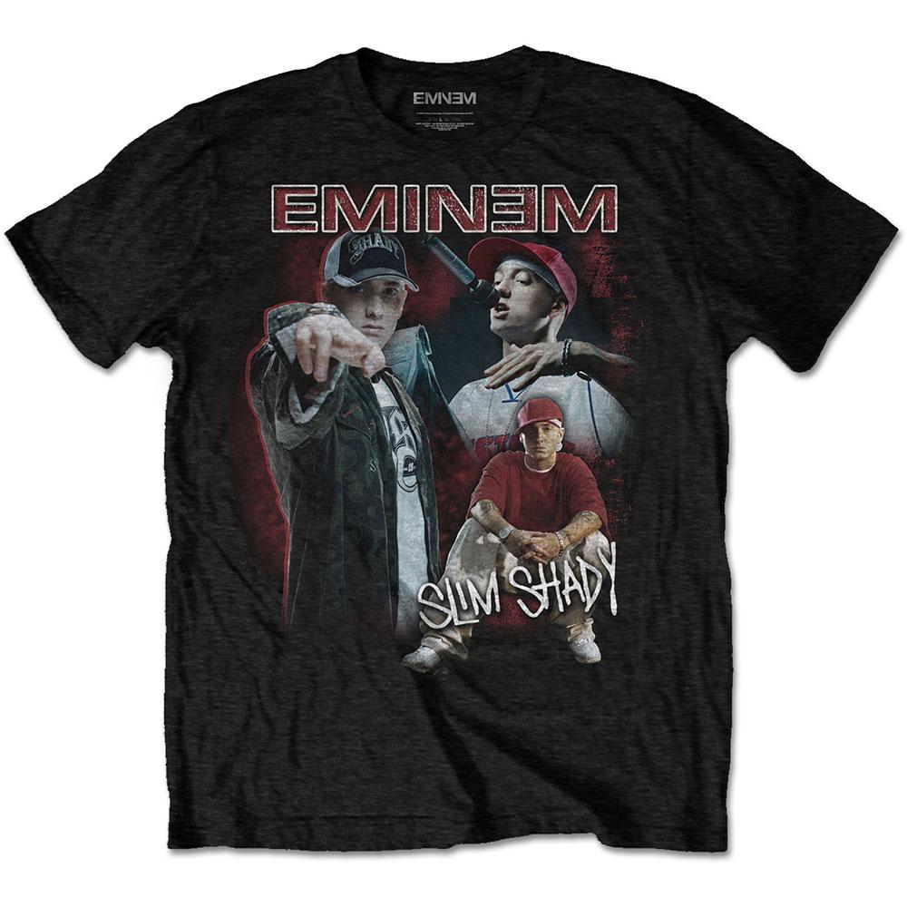 Eminem - Tričko Shady Homage - Muž, Unisex, Čierna, S