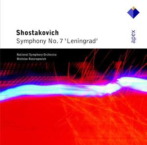 CD SHOSTAKOVICH, D. - SYMPHONY NO.7-LEININGRAD