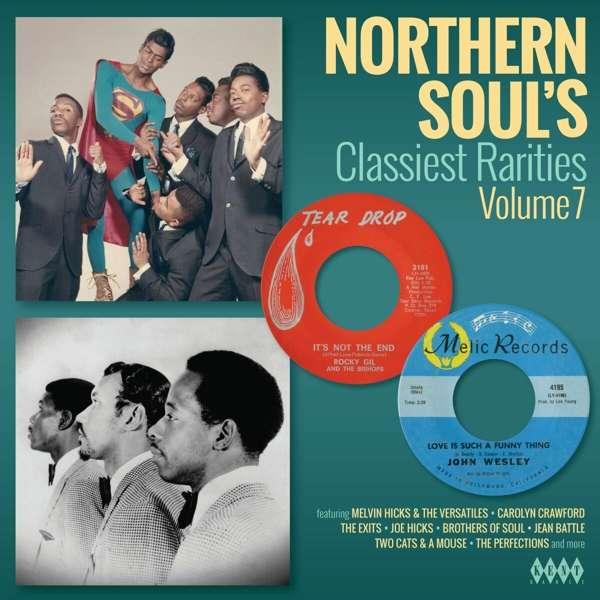 CD V/A - NORTHERN SOUL'S CLASSIEST RARITIES VOL.7