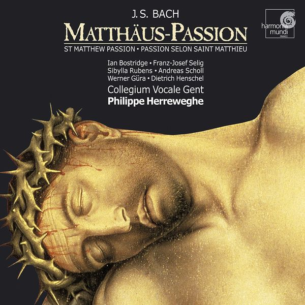 CD BACH, J.S. - MATTHAUS-PASSION - BWV244