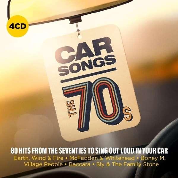 CD V/A - CAR SONGS - THE 70'S