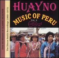 CD V/A - HUAYNO MUSIC OF PERU VOL. 2