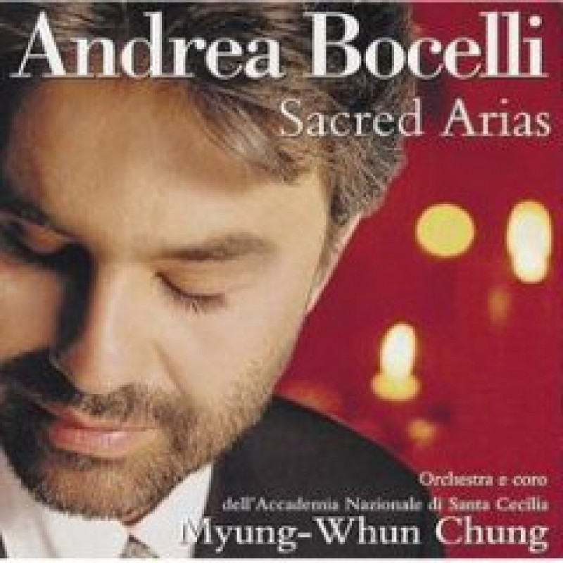 CD BOCELLI ANDREA - SACRED ARIAS/DUCHOVNI ARIE