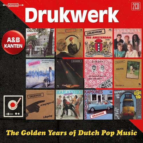 CD DRUKWERK - GOLDEN YEARS OF DUTCH POP MUSIC