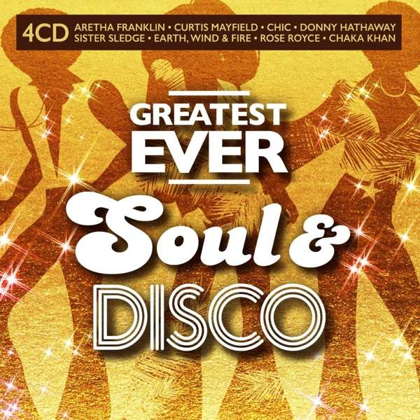 CD VARIOUS ARTISTS - GREATEST EVER SOUL & DISCO