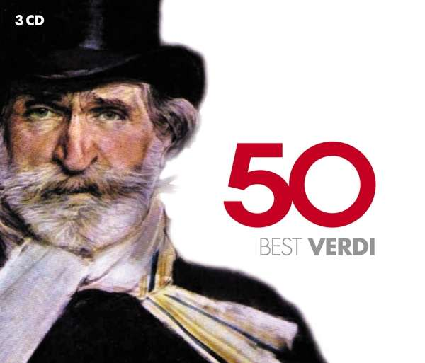 CD VARIOUS ARTISTS - 50 BEST VERDI