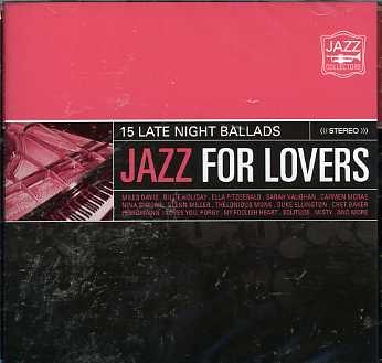 CD V/A - JAZZ FOR LOVERS