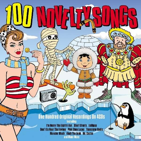 CD V/A - 100 NOVELTY SONGS
