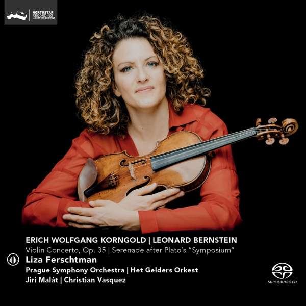 """CD FERSCHTMAN, LIZA - VIOLIN CONCERTO OP.35/SERENADE AFTER PLATO'S """"SYMPOSIUM"""