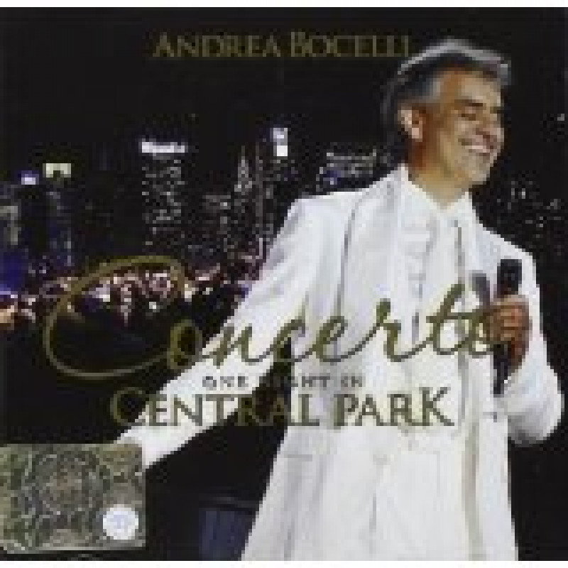 ANDREA BOCELLI - CD CONCERTO: ONE NIGHT IN CEN