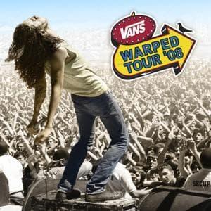 CD V/A - WARPED 2008 TOUR COMPILAT