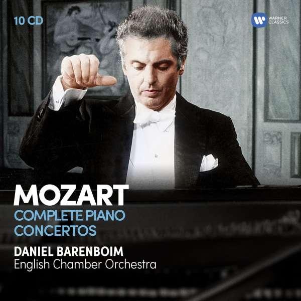 CD BARENBOIM, DANIEL - MOZART: THE COMPLETE PIANO CONCERTOS
