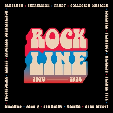 CD VARIOUS ROCK LINE 1970-1974