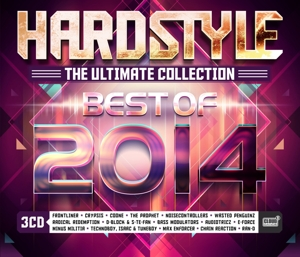 CD V/A - HARDSTYLE THE ULTIMATE COLLECTION - BEST OF 2014