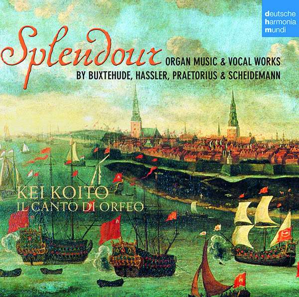 CD KOITO, KEI - Splendour - Organ Music & Voca
