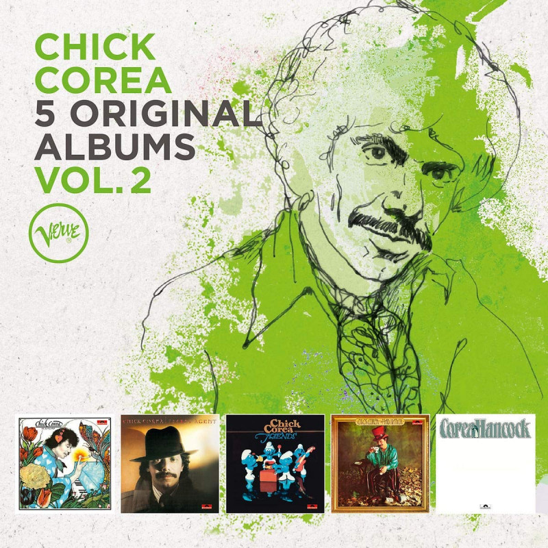 CD COREA CHICK - 5 ORIGINAL ALBUMS, VOL. 2