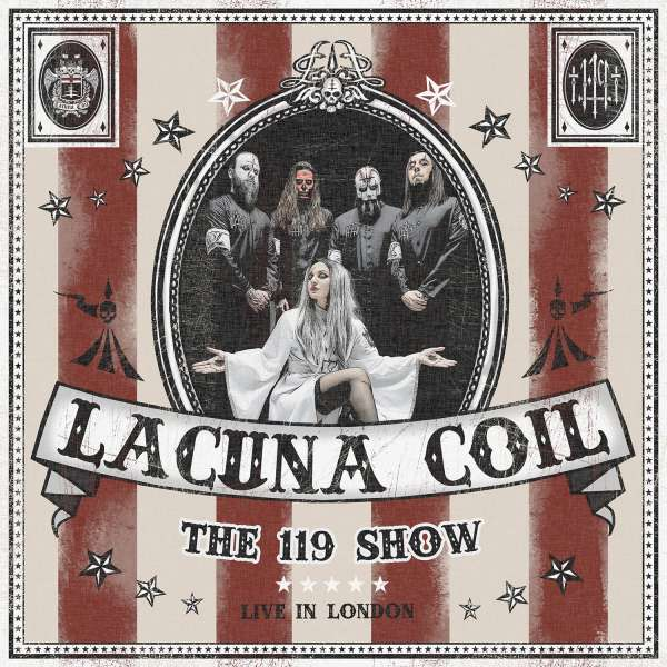 Lacuna Coil - CD 119 SHOW - LIVE IN LONDON