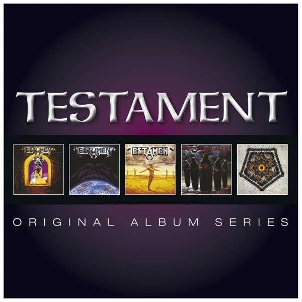 Testament - CD ORIGINAL ALBUM SERIES