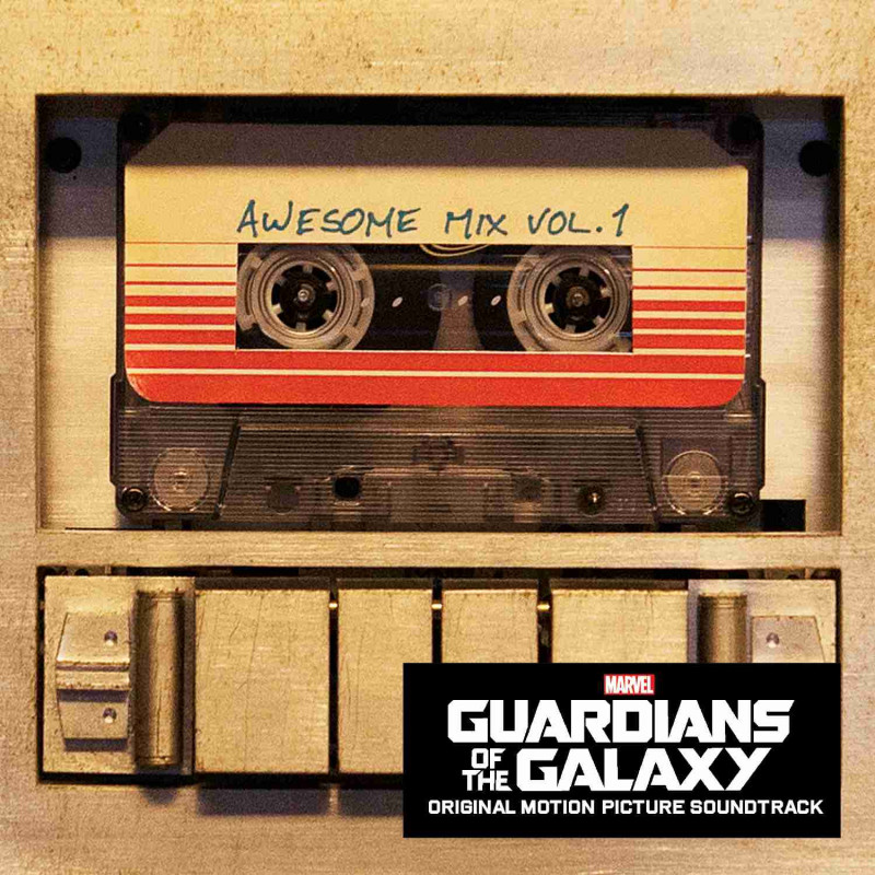 Soundtrack - CD GUARDIANS OF THE GALAXY/ Strážci Galaxie