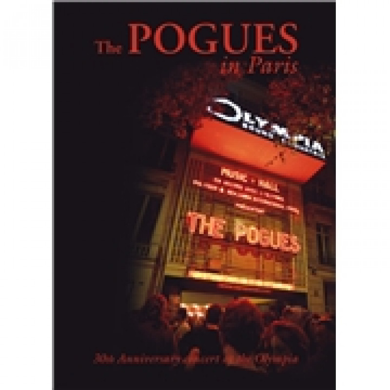 The Pogues - DVD THE POGUES IN PARIS