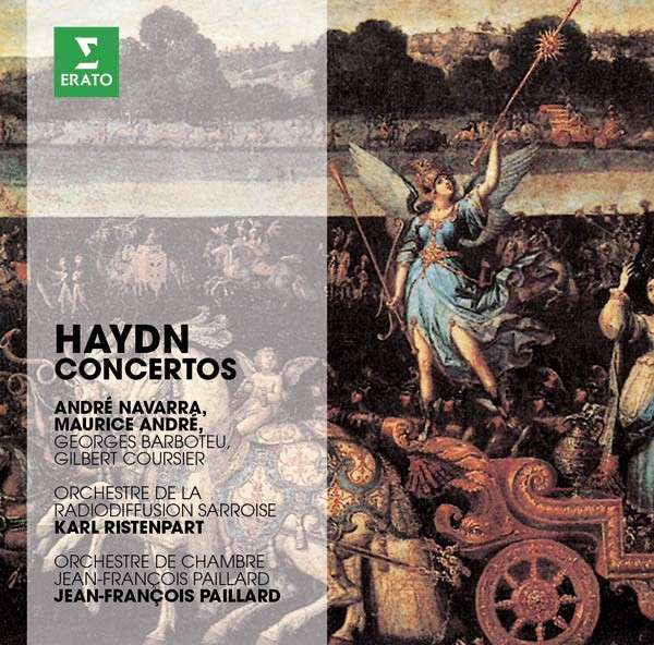 CD ANDRE, MAURICE / ANDRE NAVARRA - THE ERATO STORY. HAYDN: TRUMPET CONCERTO, CELLO CONCERTO