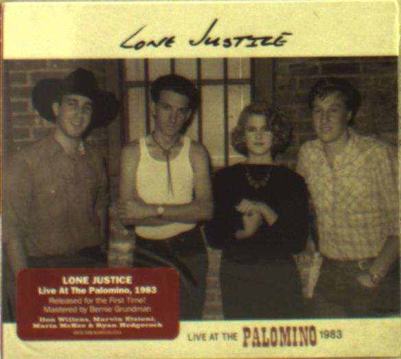 CD LONE JUSTICE - LIVE AT THE PALOMINO