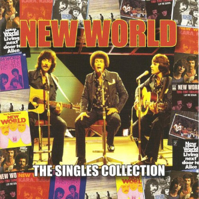 CD NEW WORLD - SINGLES COLLECTION