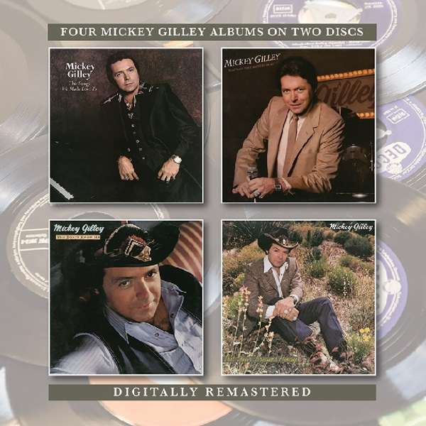 CD GILLEY, MICKEY - SONGS WE MADE LOVE TO / THAT'S ALL THAT MATTERS TO ME / YOU DON'T KNOW ME / PUT YOUR DREAMS AWAY