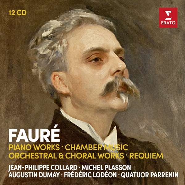 CD COLLARD/PLASSON - FAURE: PIANO WORKS, CHAMBER MUSIC, ORCHESTRAL WORKS, REQUIEM