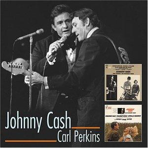 CD CASH, JOHNNY/CARL PERKINS - I WALK THE LINE/LITTLE