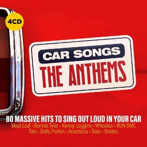 CD V/A - CAR SONGS - THE ANTHEMS