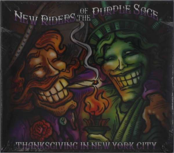 CD NEW RIDERS OF THE PURPLE SAGE - THANKSGIVING IN NEW YORK CITY (LIVE)